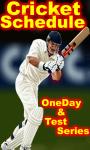 Cricket Schedule 2014-15 screenshot 1/4