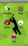 Cricket Schedule 2014-15 screenshot 2/4