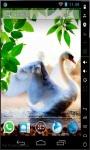 Lonely Swan Live Wallpaper screenshot 1/2