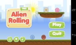 Alien Rolling Free screenshot 1/6