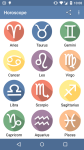 Horoscope for Android by mobeela screenshot 1/4