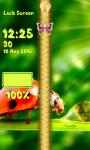 Ladybug Zipper Lock Screen screenshot 6/6