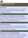 101 Ideas to Impress Girls screenshot 2/2