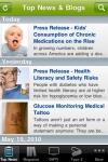 Diabetes Health Mobile screenshot 1/1