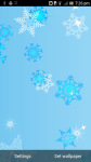 Valentine Snow Live Wallpaper free screenshot 1/3