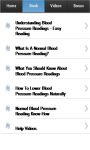 Blood Pressure Readings screenshot 2/3