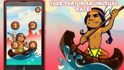 Indian Piragua Race - Kayak Competition screenshot 1/3