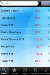 Radio Honduras - Alarm Clock + Recording screenshot 1/1