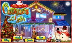 Free Hidden Object Game - Christmas Lights screenshot 1/4