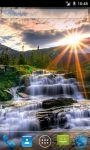 Waterfall Rays Live Wallpaper screenshot 1/3