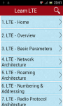 Learn LTE screenshot 1/3