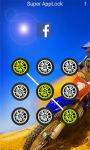 AppLock Theme Motocross Race screenshot 1/2