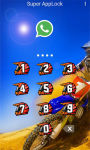 AppLock Theme Motocross Race screenshot 2/2