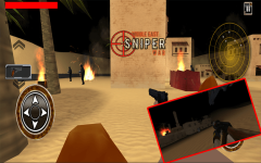 Arab Sniper Assassin Shoot War screenshot 1/6