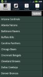 Pro Football Radio and Scores source screenshot 4/5
