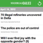 Nigerian Dailies S40 screenshot 1/2