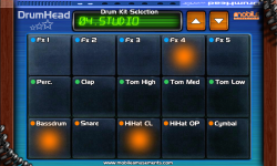 DrumHead by Mobile Amusements screenshot 1/2