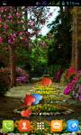 Flower Garden Live Wallpaper Best screenshot 1/5
