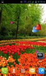 Flower Garden Live Wallpaper Best screenshot 3/5