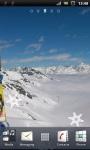 Snowboard Sport on Winter Live Wallpaper screenshot 2/3