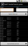 Bodybuilding Workout Log screenshot 3/6