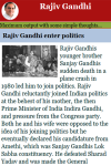 Rajiv Gandhi screenshot 2/2
