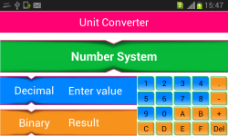Unit Converter sharpsol screenshot 3/4