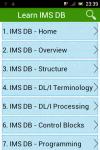 Learn IMS DB screenshot 1/3