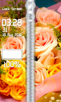 Flowers Zipper Lock Screen screenshot 4/6