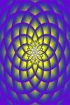 Digital lotus screen saver screenshot 2/2