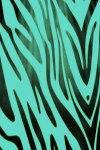 Teal Zebra Print Live Wallpaper screenshot 1/2