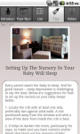 Peaceful Nursery Green Healthy Tips for Baby screenshot 4/5