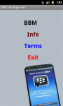 BBM 4 Beginners screenshot 2/4