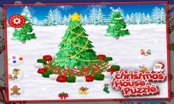 Christmas House Puzzle screenshot 1/5