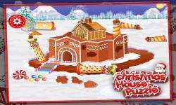 Christmas House Puzzle screenshot 2/5