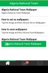 Algeria National Team Wallpaper screenshot 2/5