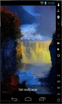Waterfall In Fog Live Wallpaper screenshot 1/2