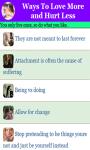 Ways To Love More and Hurt Less v1 screenshot 1/3