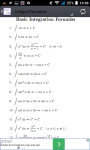 Derivative and Integral formulae and solvers screenshot 2/3