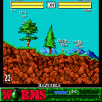 Worms Game For Android screenshot 1/4