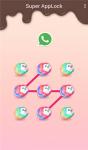 AppLock Theme Candy Sweety screenshot 3/3