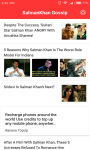 SalmanKhan Gossip screenshot 1/6