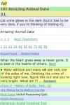 101 Amazing Animal Facts screenshot 2/3