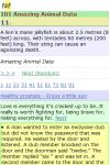 101 Amazing Animal Facts screenshot 3/3