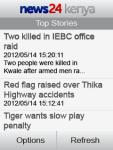 News24 Kenya screenshot 1/3