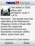 News24 Kenya screenshot 3/3