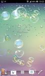 Bubbles live wallpapers screenshot 2/6