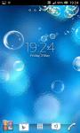 Bubbles live wallpapers screenshot 3/6