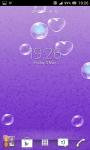 Bubbles live wallpapers screenshot 4/6
