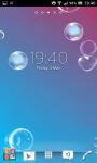 Bubbles live wallpapers screenshot 5/6